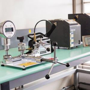 Calibração de manometros